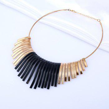 Statement Alloy Geometric Necklace - COLORMIX