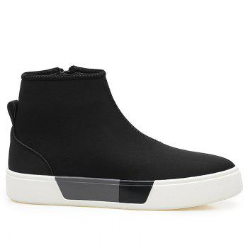 High Top Color Block Skate Shoes