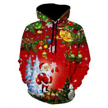 Christmas Tree Jingle Bells Santa Christmas Hoodie