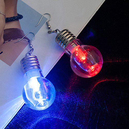 Variable Glow Color Lamp Hook Drop Earrings -