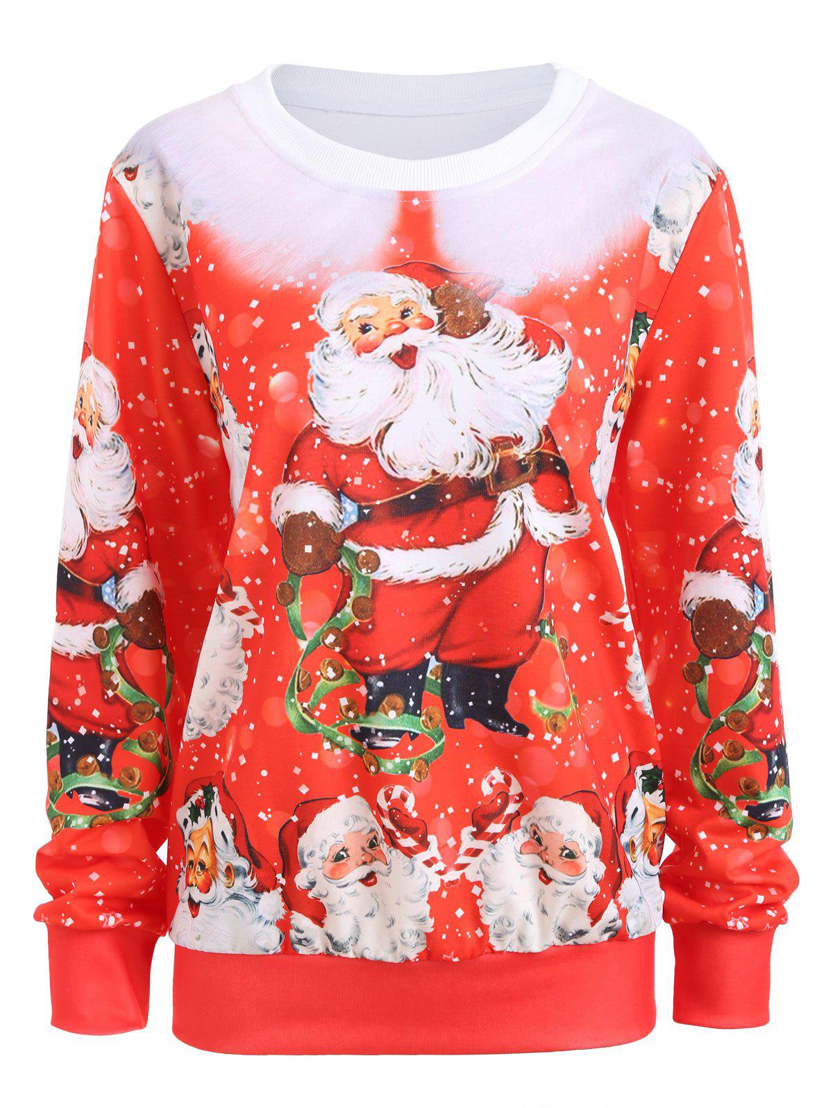 Santa Claus Merry Christmas Sweatshirt e0005929ryw