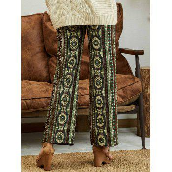 Palazzo Pants with Bohemian Print - COLORMIX M