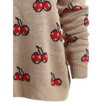 Pull taille col taille taille - Kaki ONE SIZE