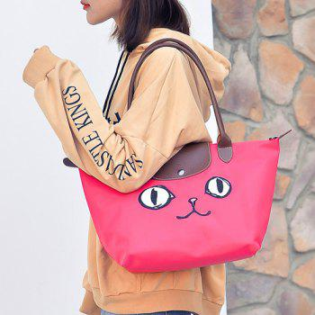 Cartoon Embroidery Waterproof Nylon Tote Bag -  TUTTI FRUTTI