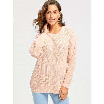 Sweat à manches longues - Rose Clair ONE SIZE