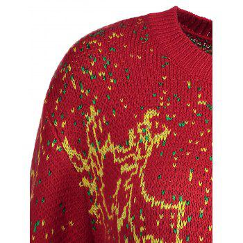 Pull taille royal Elk - Rouge 3XL