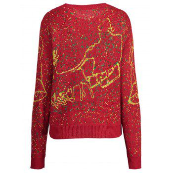 Pull taille royal Elk - Rouge 5XL