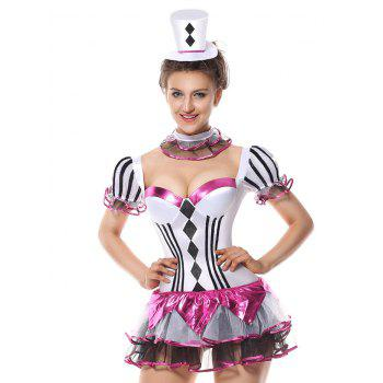 Mini Tier Flounce Costume Dress - ONE SIZE ONE SIZE