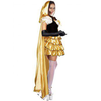 Tier Flounce Princess Costume Dress - ONE SIZE ONE SIZE