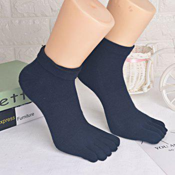 Five Toe Finger Cotton Blend Socks