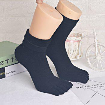 Five Finger Toe Keep Warm Cotton Blend Socks
