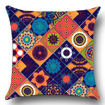 Bohemia Pattern Home Decor Throw Pillow Case - COLORFUL COLORFUL