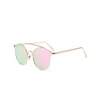 Outdoor Metal Frame Butterfly Sunglasses - PINKISH PURPLE PINKISH PURPLE
