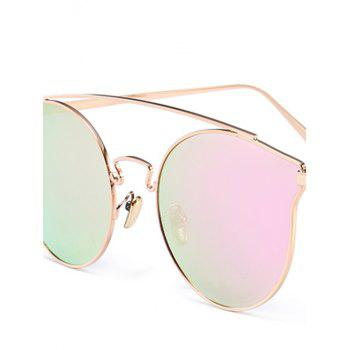 Outdoor Metal Frame Butterfly Sunglasses -  PINKISH PURPLE