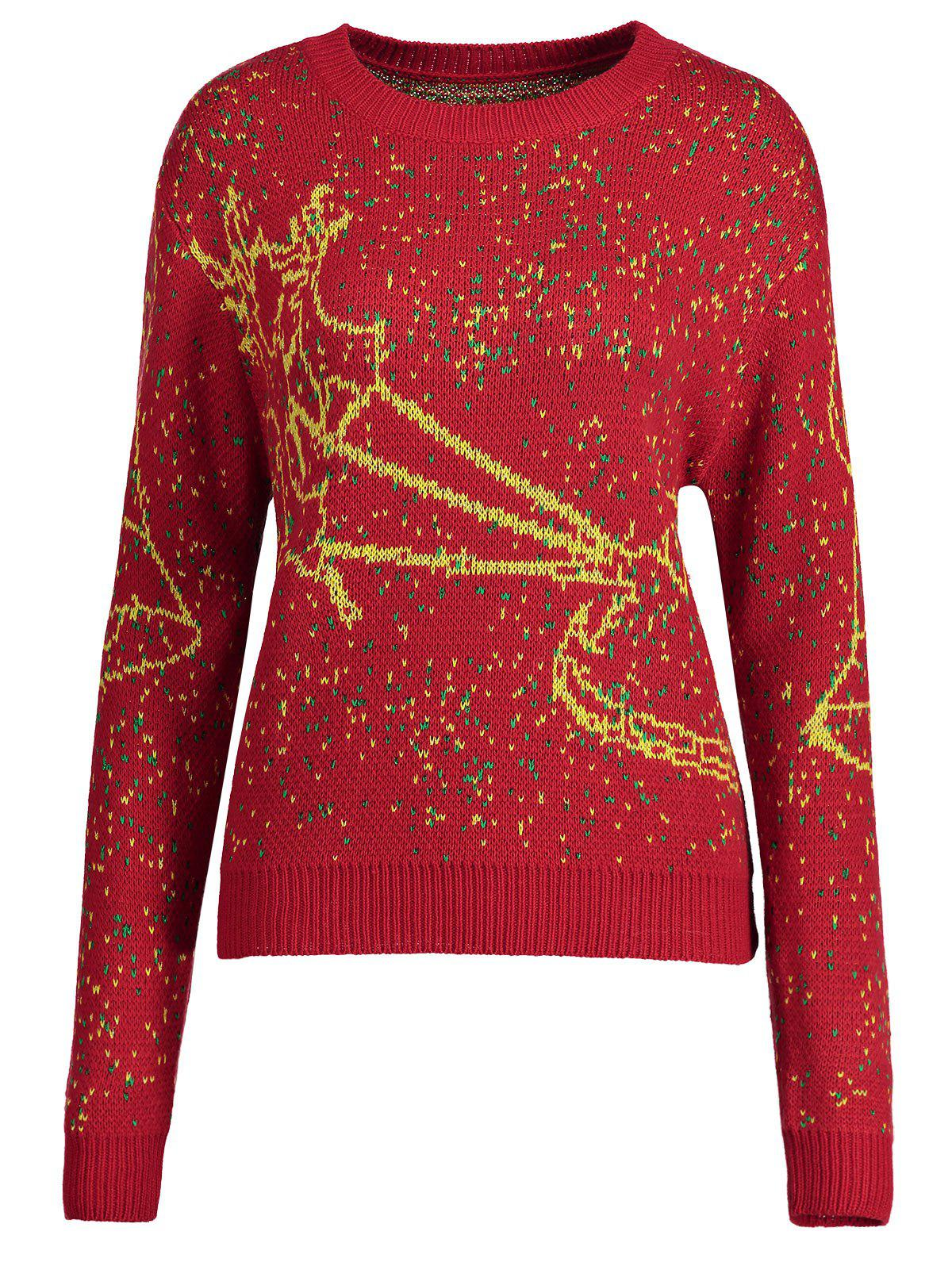 Pull taille royal Elk - Rouge 4XL