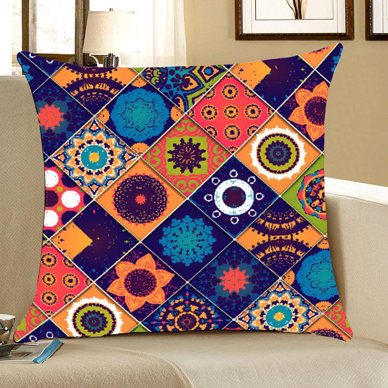 Bohemia Pattern Home Decor Throw Pillow Case - COLORFUL W18 INCH * L18 INCH