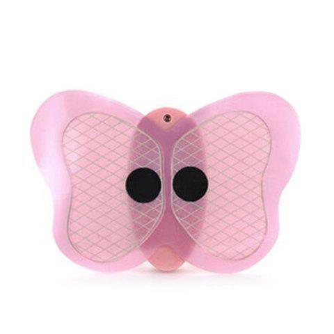Body Muscle Slimming Pulse Cordless Mini Butterfly Massager - PINK