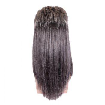 Long Fluffy Layered Straight Colormix Cosplay Party Synthetic Man Wig -  COLORMIX