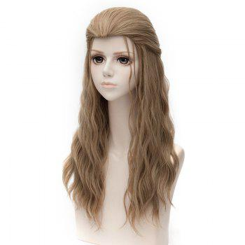 Avengers Age of Ultron Thor Cosplay Long Natural Wavy Synthetic Wig -  BROWN
