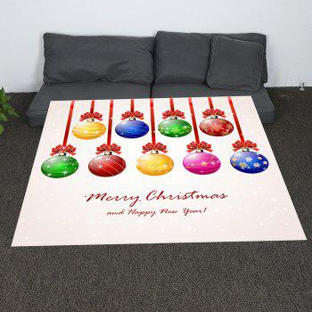Coral Fleece Baubles Pattern Blanket - COLORFUL COLORFUL