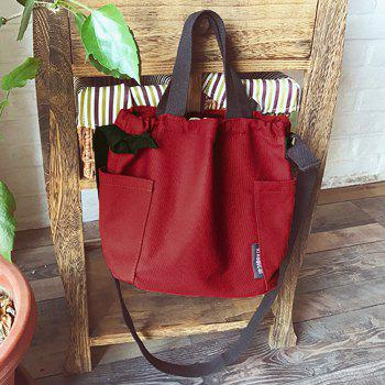 Sac fourre-tout convertible - Rouge