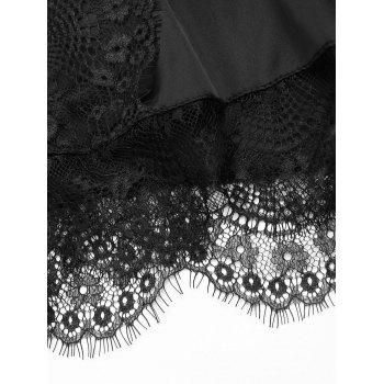 Lace Eyelash Safety Shorts - BLACK ONE SIZE