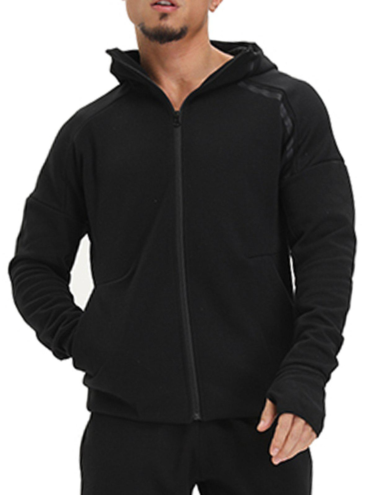 Sweat à capuche Zip - Noir XL