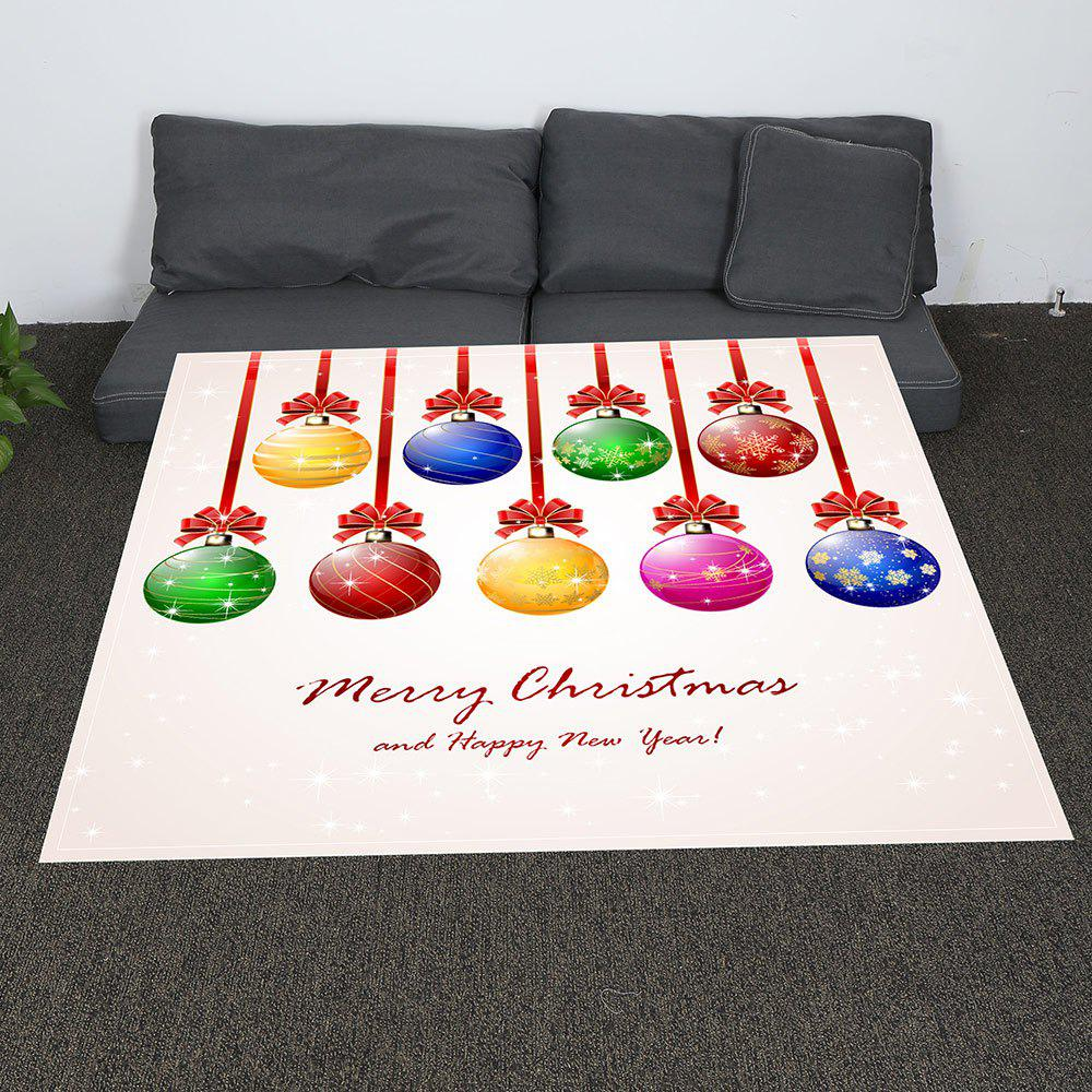 Coral Fleece Baubles Pattern Blanket - COLORFUL W47INCH*L59INCH