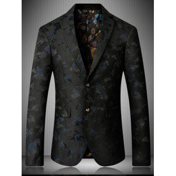 Riding Jacquard Single Breasted Blazer - XL XL