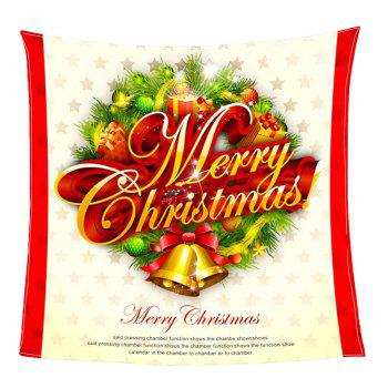 Merry Christmas Print Coral Fleece Blanket - COLORFUL W31 INCH*L59 INCH