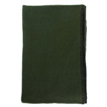Cover Edge Design Thicken Scarf - BLACKISH GREEN