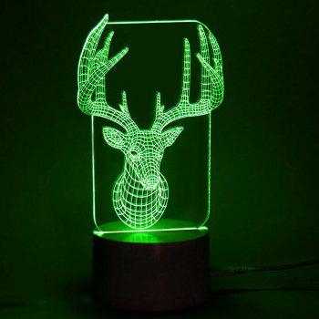 Elk Color Change LED Lighting avec télécommande - Transparent