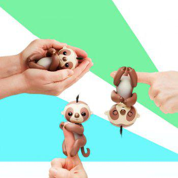 Baby Sloth Smart Interactive Induction Toy Fingerlings - BROWN
