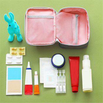 Portable Travel First Aid Medical Bag - PINK