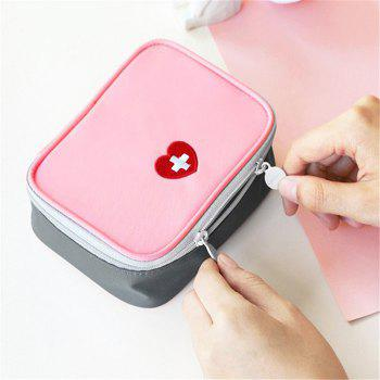 Portable Travel First Aid Medical Bag - PINK PINK