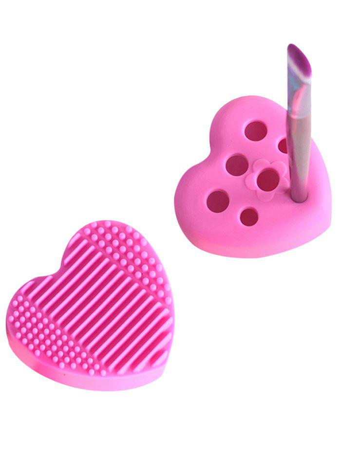 Heart Shape Silicone Cleaning Tool Brush Eggs - TUTTI FRUTTI