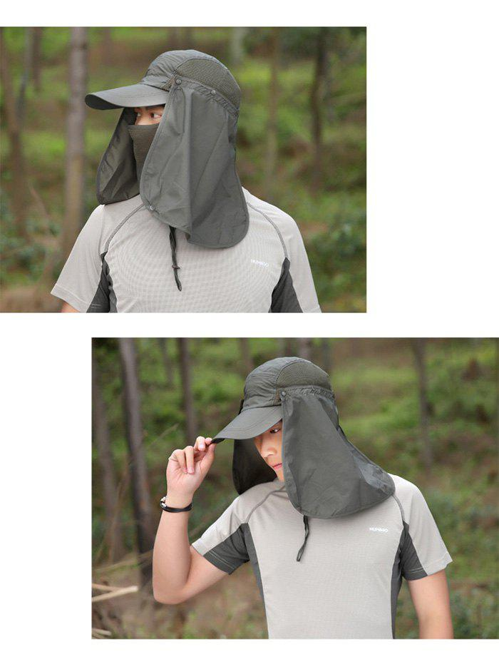 Outdoor Sport Detachable Quick Dry UV Protection Hat - ARMY GREEN
