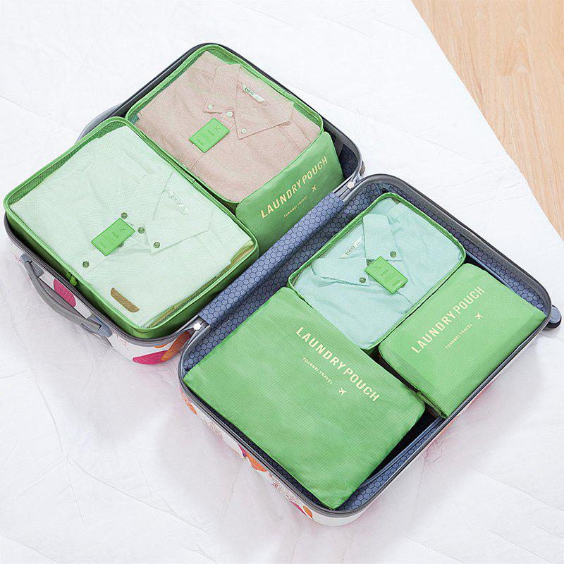 6 Pcs Travel Organizer Storage Bags