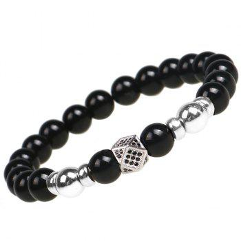 Beads Geometry Shape Prayer Bracelet - GOLDEN