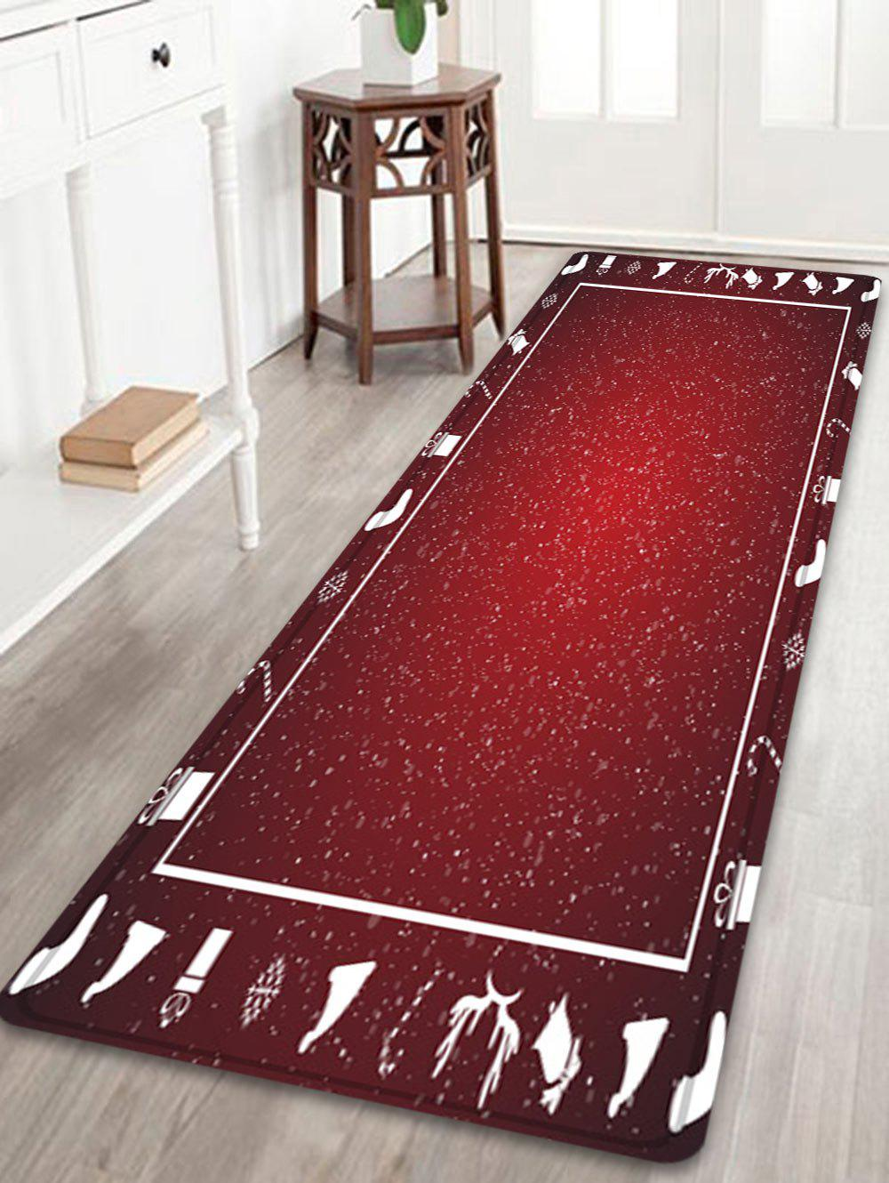 Christmas Theme Pattern Indoor Outdoor Area Rug wood merry christmas pattern indoor outdoor area rug