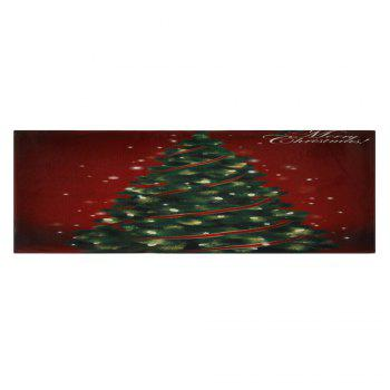 Christmas Tree Pattern Indoor Outdoor Area Rug - COLORMIX W16 INCH * L47 INCH
