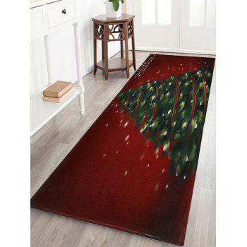 Christmas Tree Pattern Indoor Outdoor Area Rug - COLORMIX W24 INCH * L71 INCH