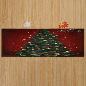 Christmas Tree Pattern Indoor Outdoor Area Rug - W24 INCH * L71 INCH W24 INCH * L71 INCH