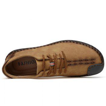 Lace Up Stitching Casual Shoes - 44 44