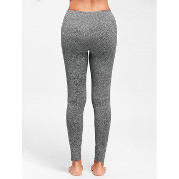 Mesh Insert Workout Tights - M M