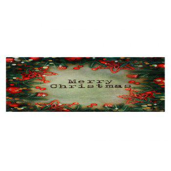 Christmas Tree Decorations Pattern Indoor Outdoor Area Rug - W16 INCH * L47 INCH W16 INCH * L47 INCH