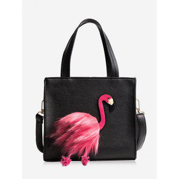 PU Leather Flamingo Handbag