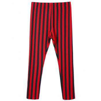 Plus Size Striped Pants - 3XL 3XL