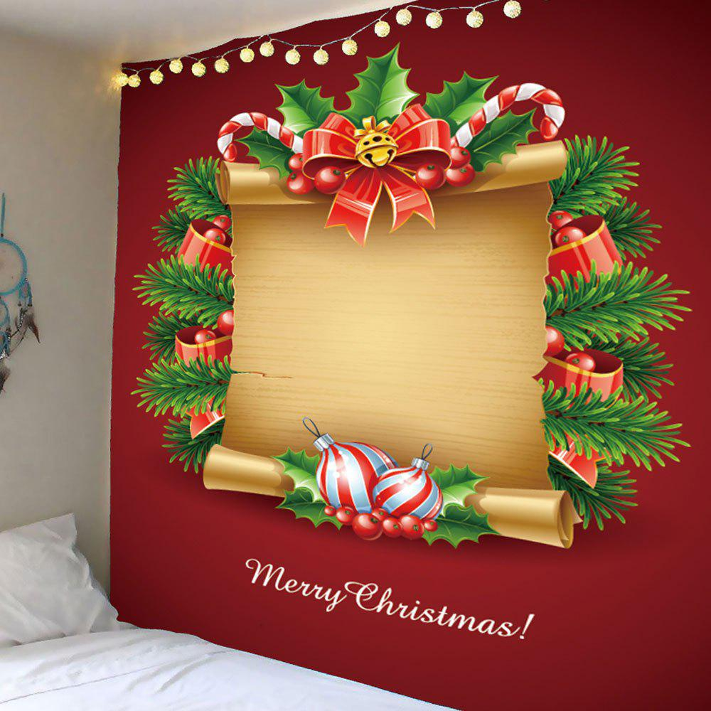 2018 Wall Hanging Christmas Paper Pattern Waterproof Tapestry ...