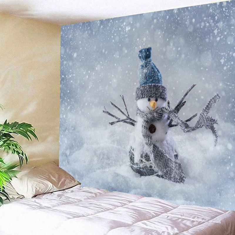 Wall Art Snowman Pattern Christmas Tapestry цена 2017